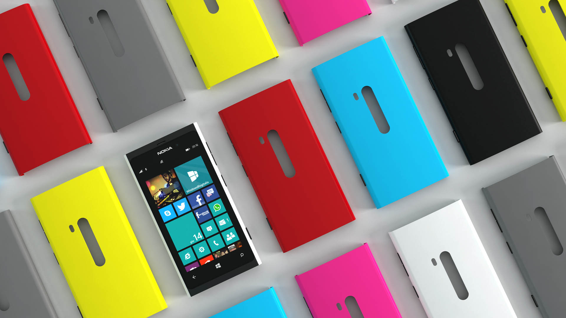 Nokia Lumia 880 pattern
