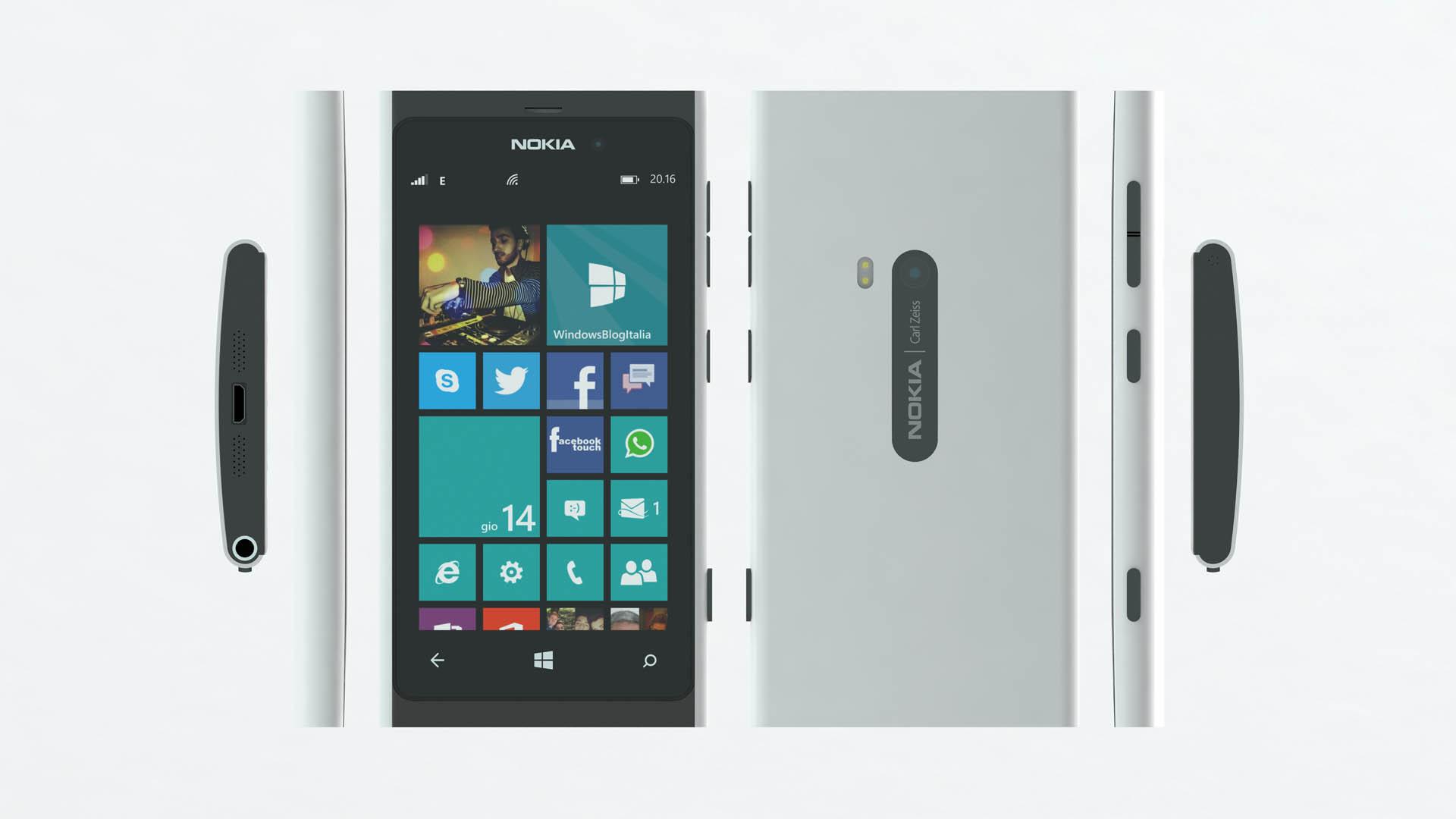 Nokia Lumia 880 white (specs)