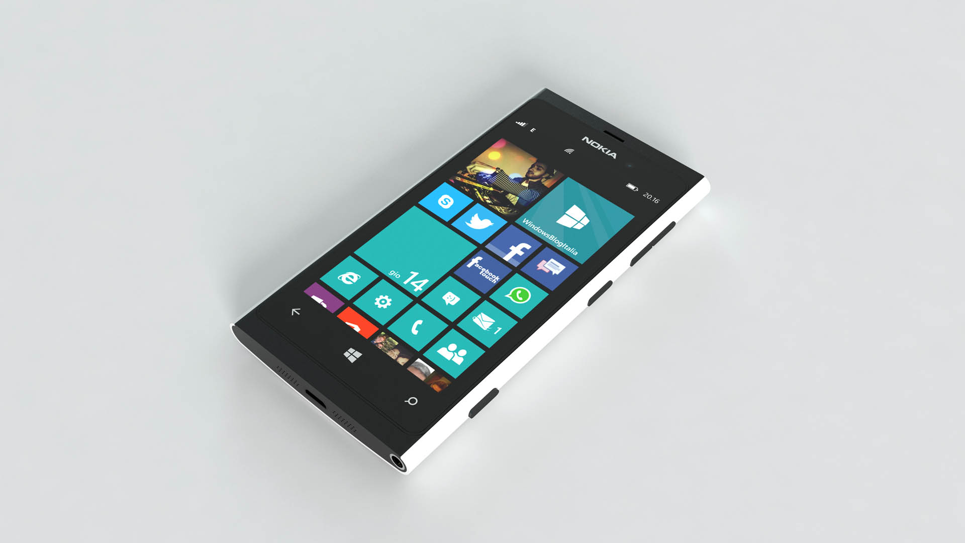 Nokia Lumia 880 white
