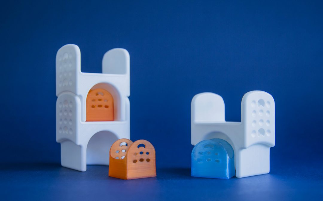 Prototipazione rapida con stampa 3D di un progetto universitario