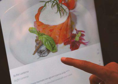 Menu touch per ristoranti RistoPixel