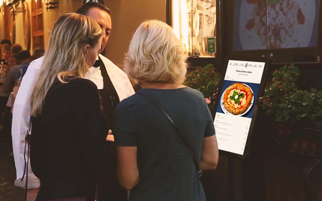 RistoPixel, il primo menu interattivo per ristoranti a Sorrento