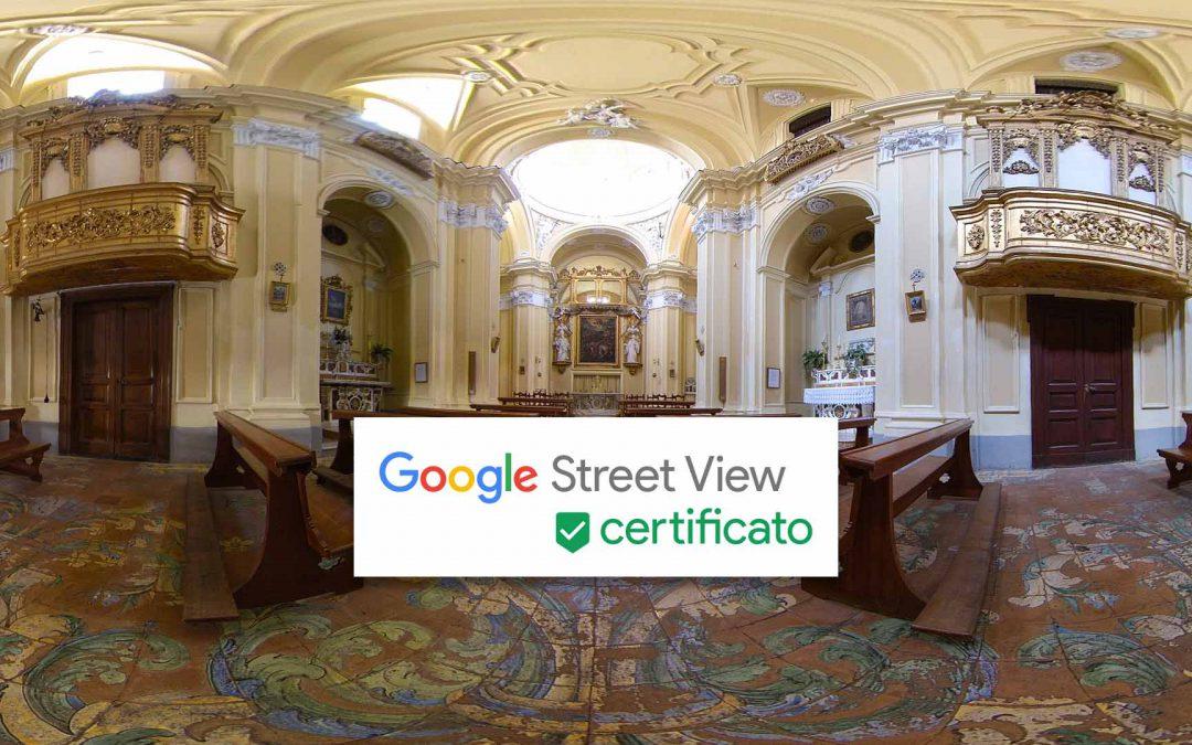 Fotografo professionista certificato Google Street View a Sorrento
