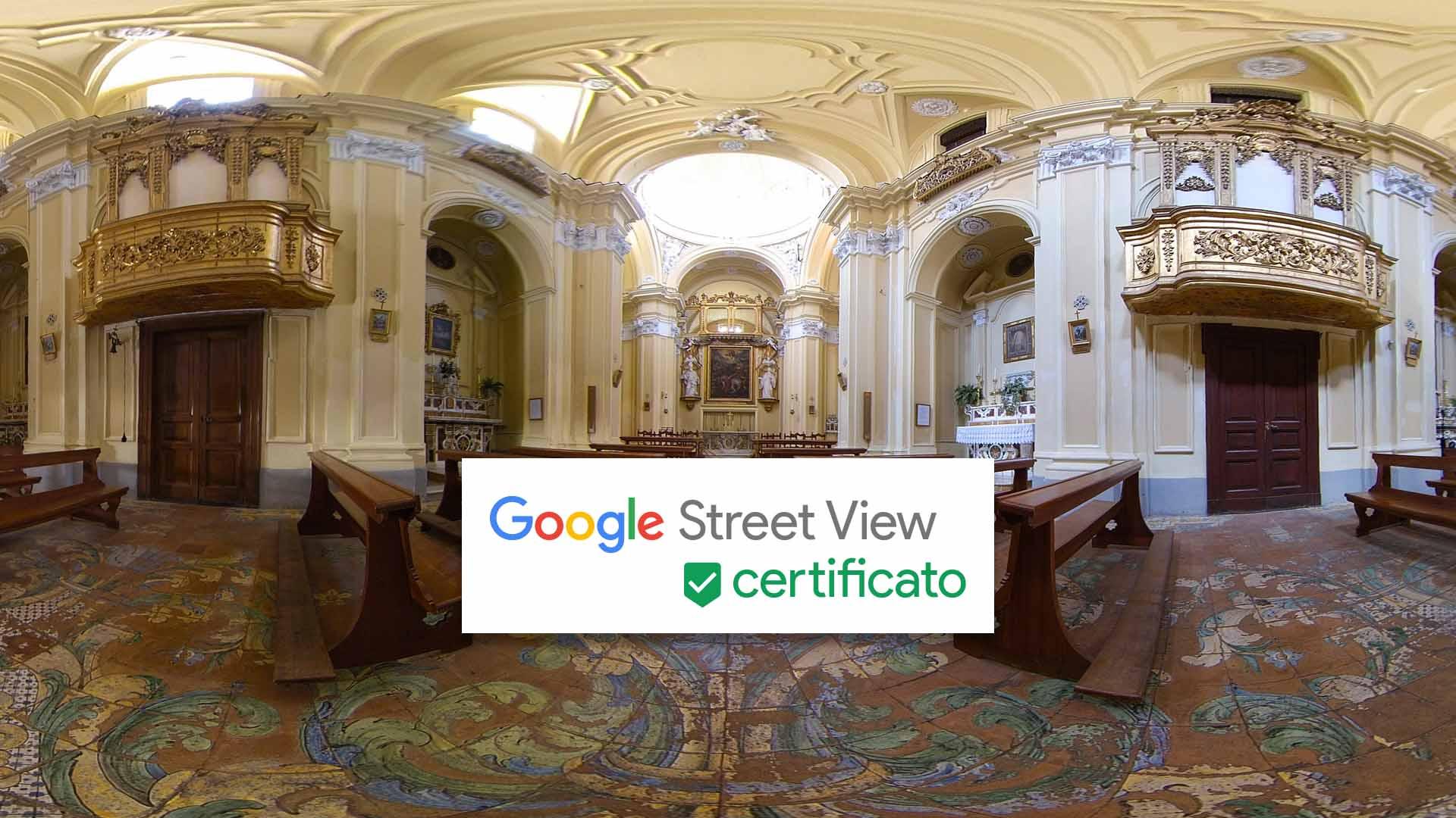 Foto panoramica Street View