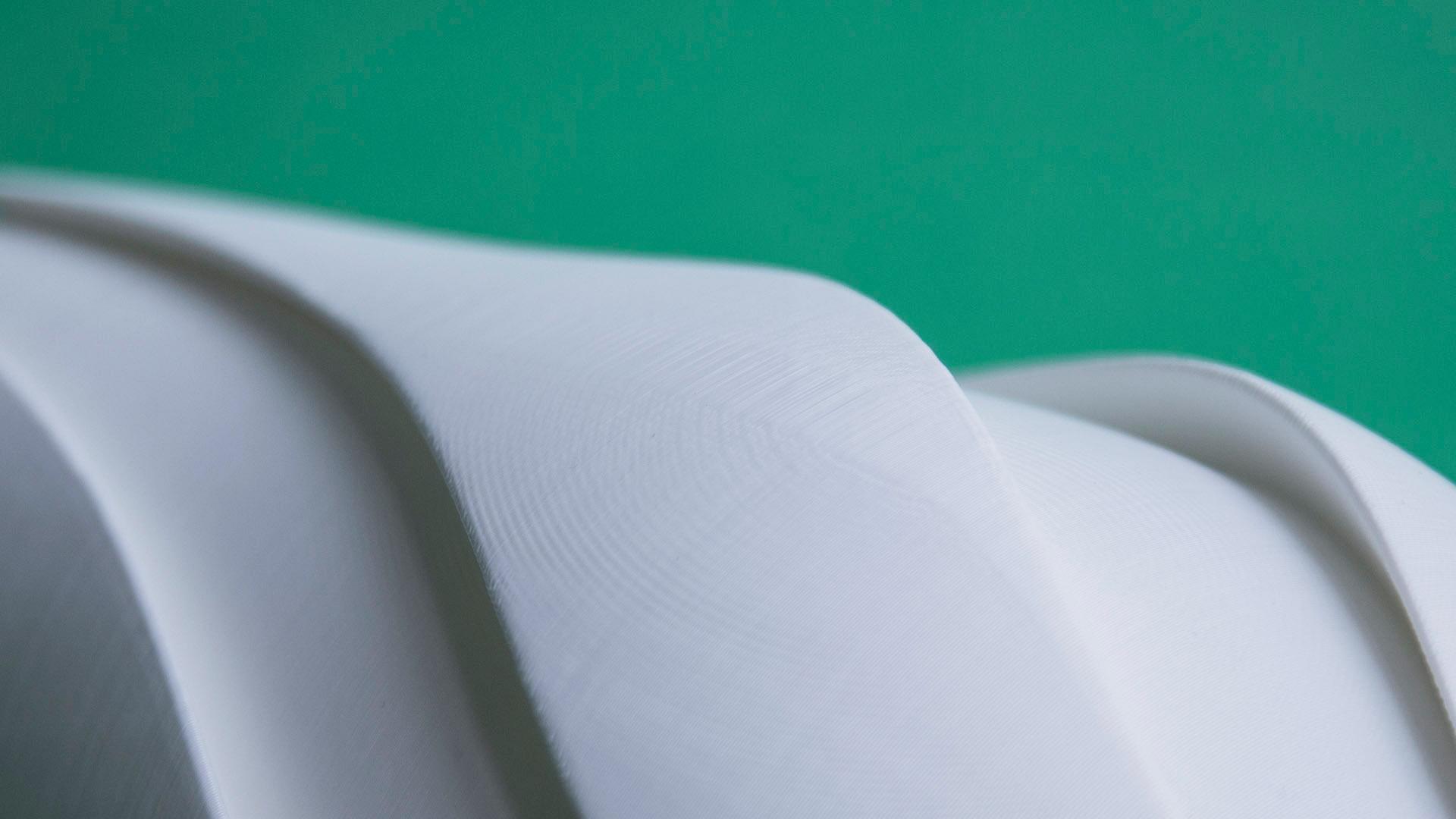 Vásame, dettaglio del vaso stampato 3D