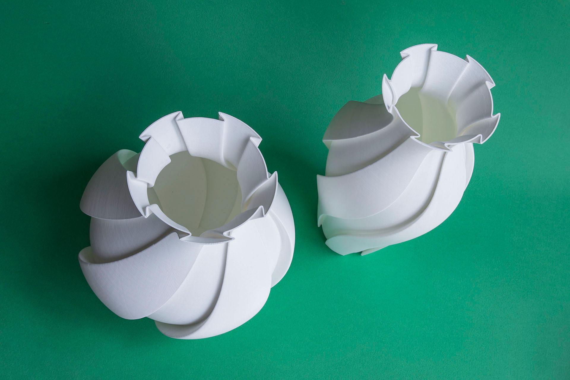 Vásame, vasi prodotti con la stampante 3D
