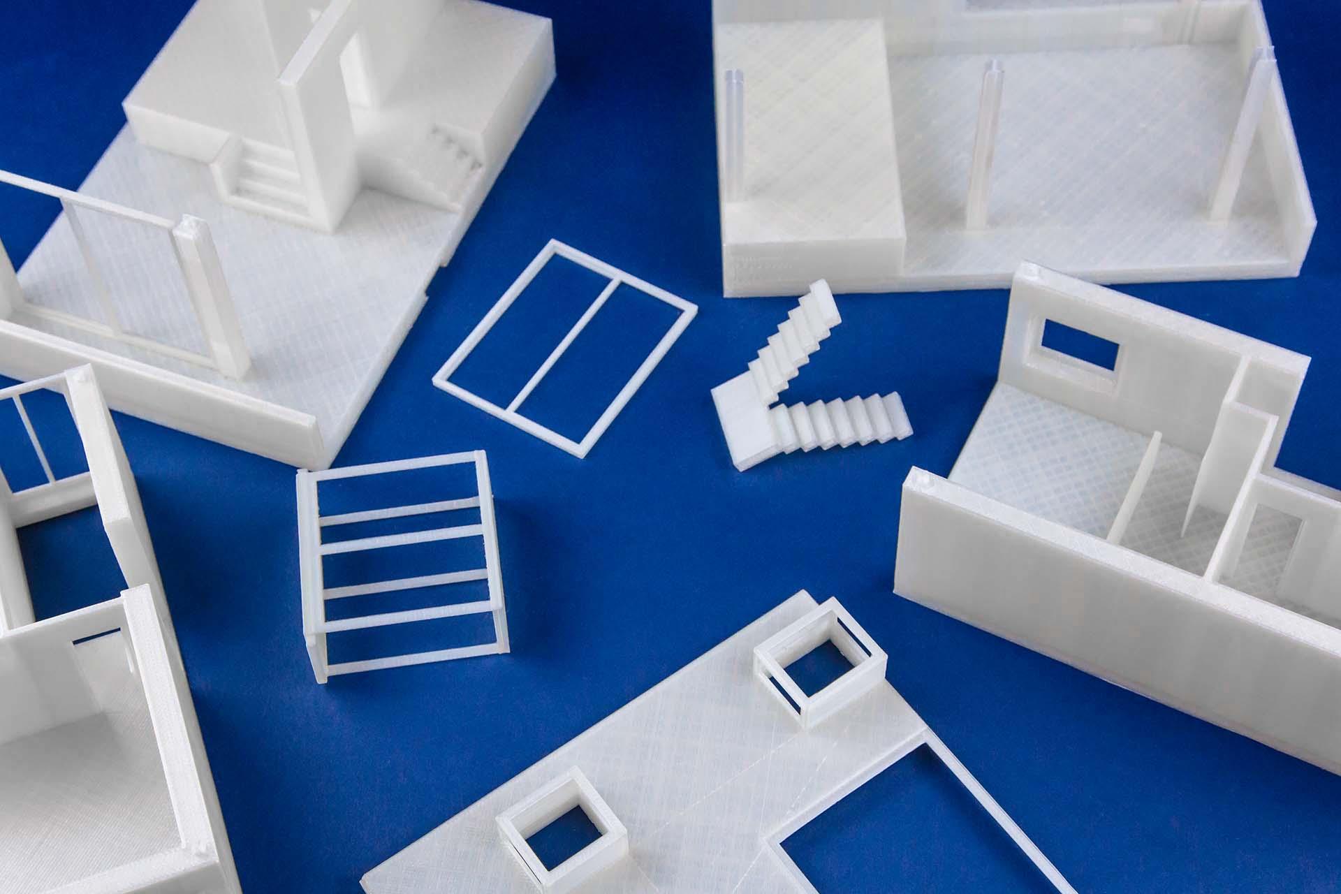 Service di stampa 3D per architetti