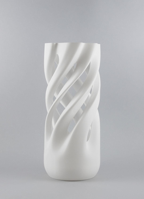 Abbracciame senza pianta, vaso stampato 3D, by Adriano Alfaro e David Bitton