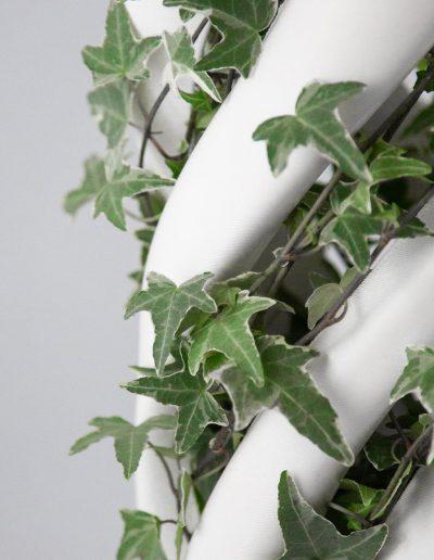 Abbracciame, vaso stampato 3D, by Adriano Alfaro e David Bitton, dettaglio della parte centrale