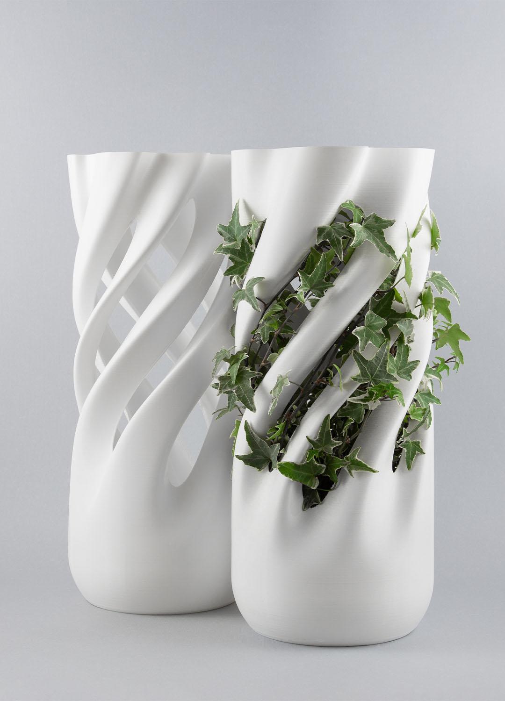 Abbracciame, vaso stampato 3D, by Adriano Alfaro e David Bitton