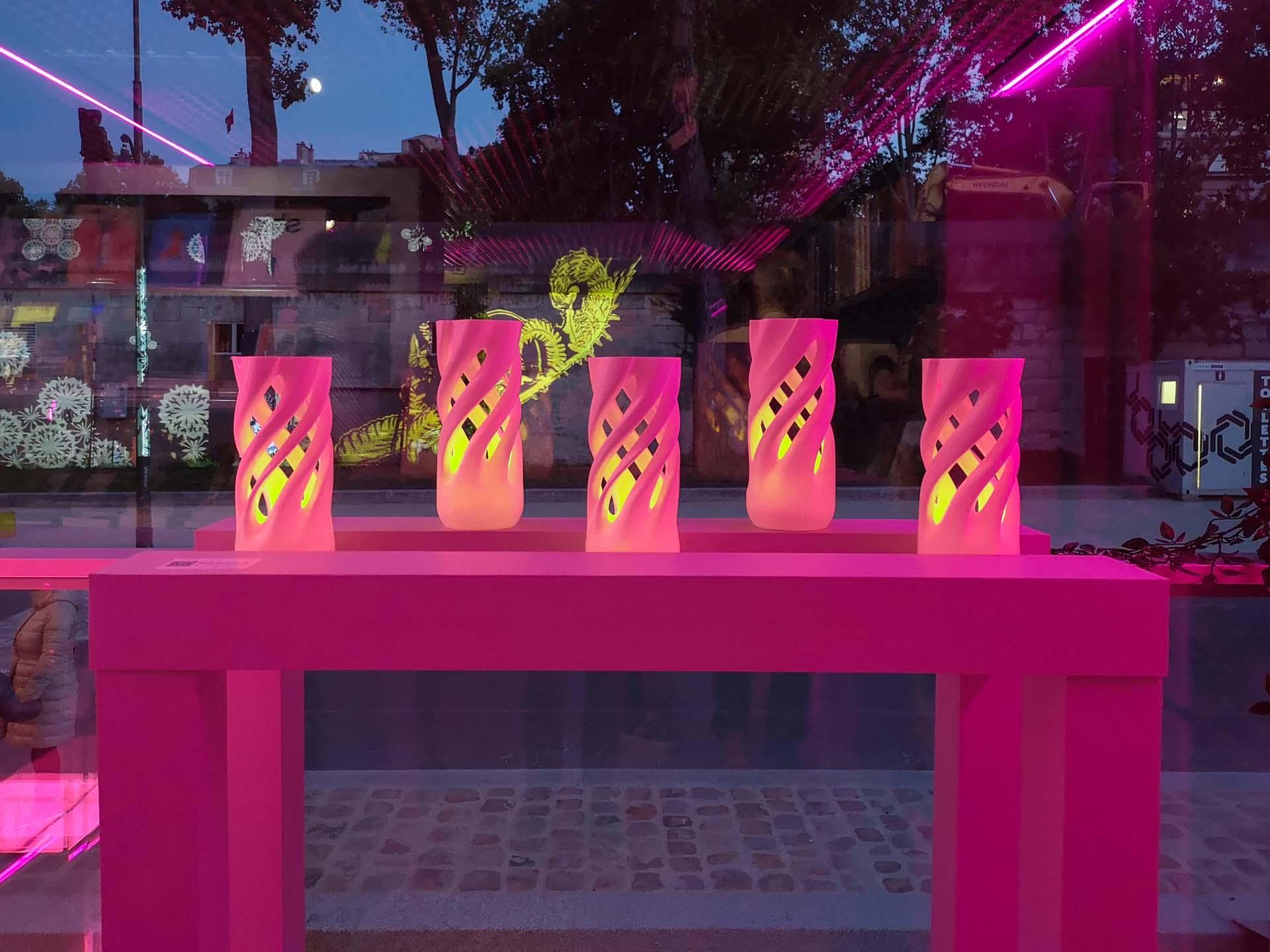 Abbracciame Candle for tealight by David Bitton & Adriano Alfaro @ Fluctuart - Le Grand Jeu