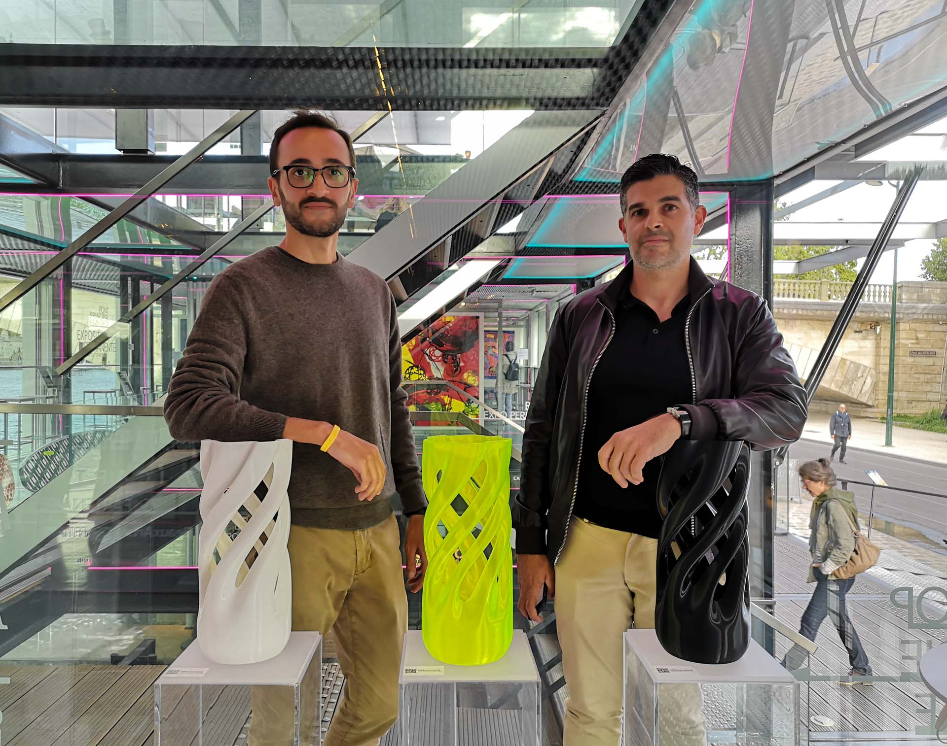 Adriano Alfaro & David Bitton, designers of Abbracciame