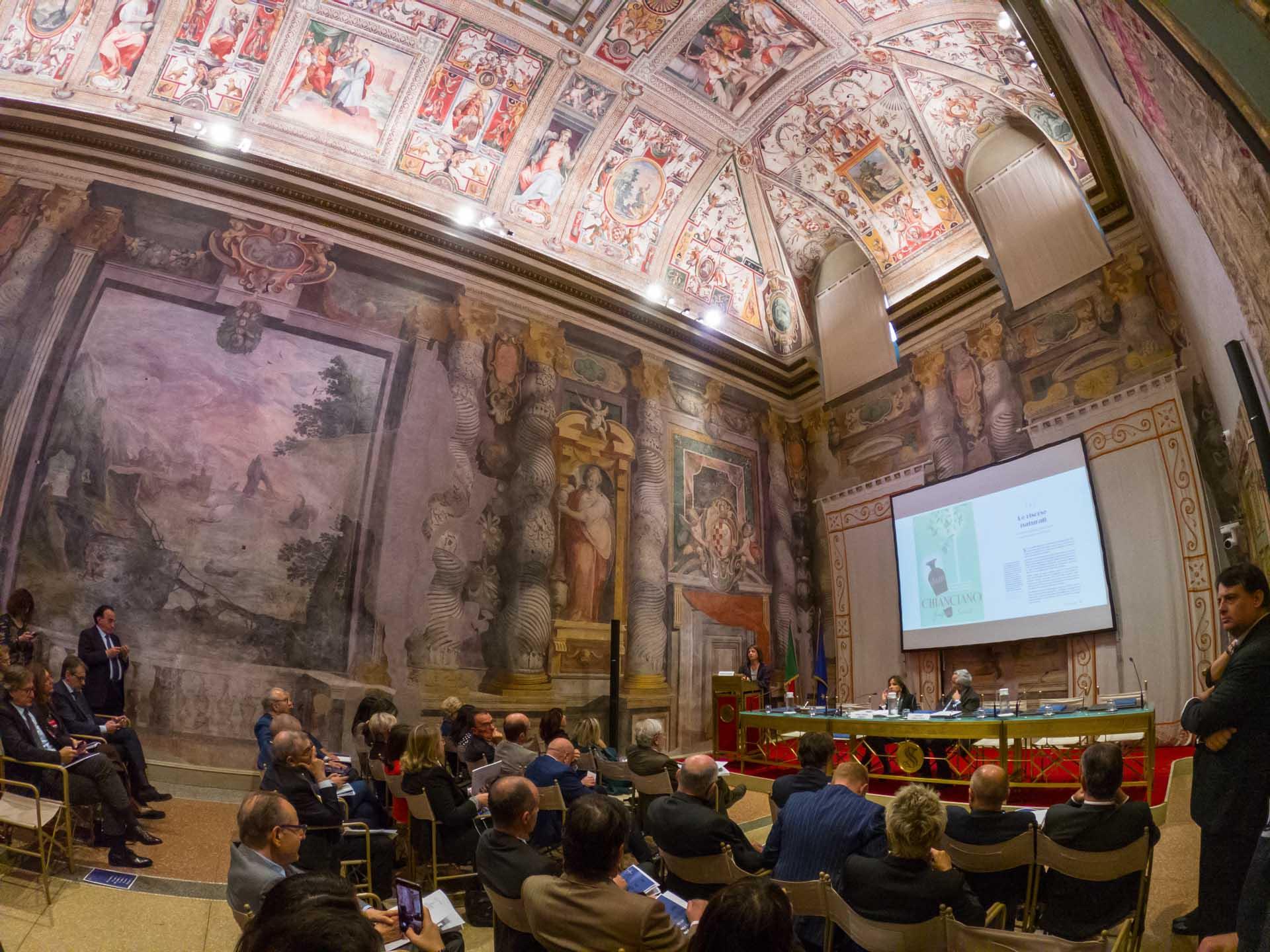 Annunziata Berrino presenta il libro di Federterme al Senato della Repubblica
