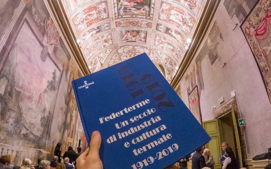 Il volume sui 100 anni di Federterme presentato al Senato della Repubblica