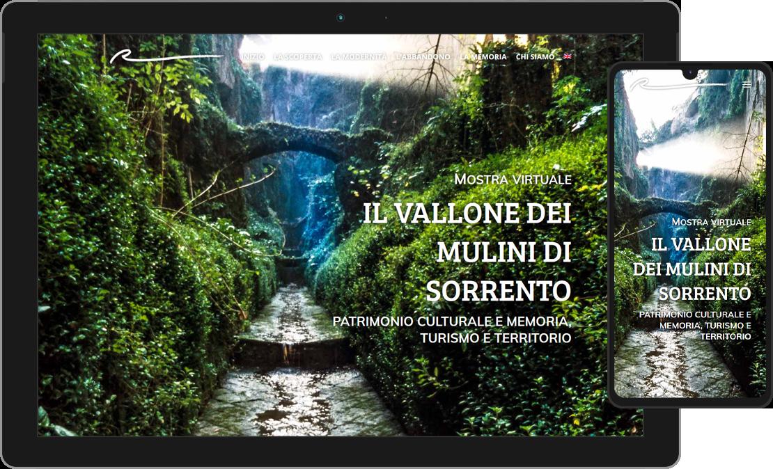 Mostra virtuale sul vallone dei mulini di Sorrento
